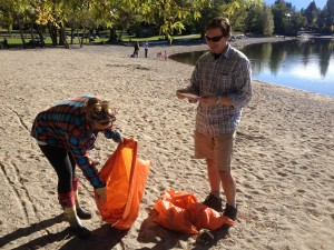 Shoreline Stewards! Invermere's shorelines are free of debris thanks to local volunteers who took part in the Great Canadian Shoreline Cleanup September 20th