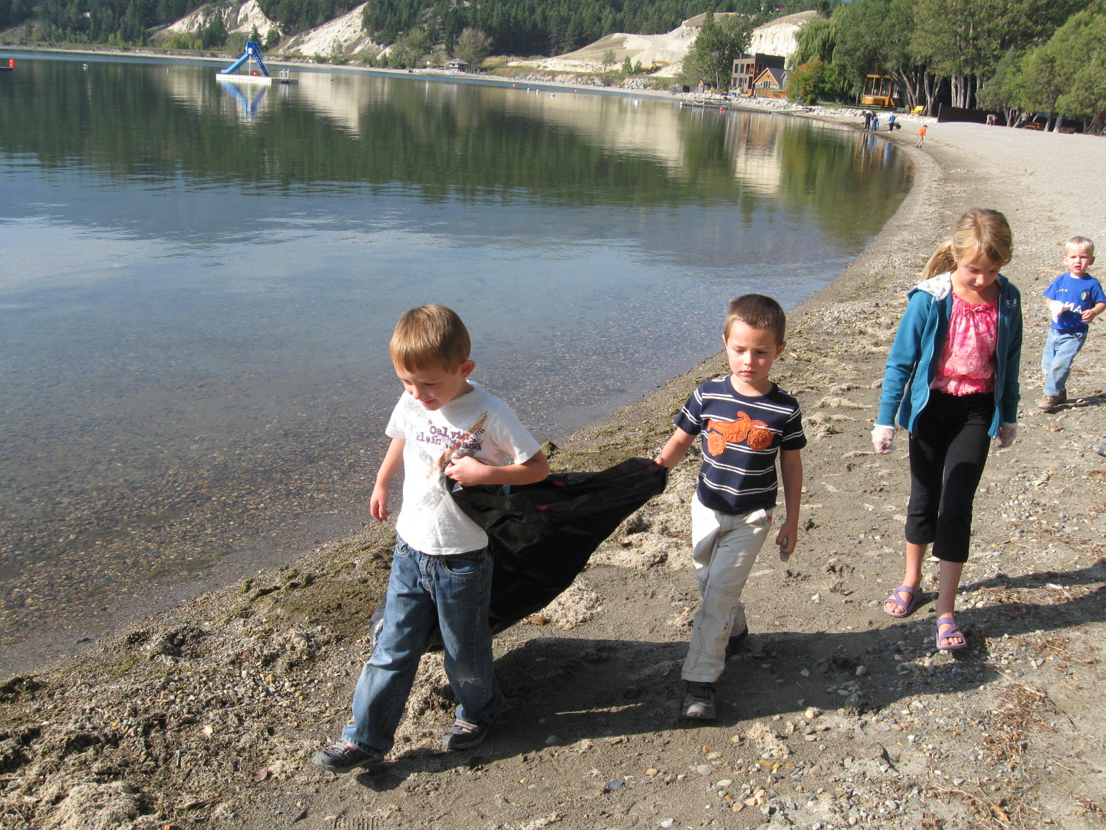Shoreline Clean-up September 21st