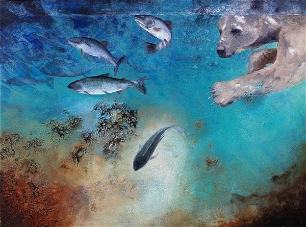 """""""Spirit in the Water"""" Photo by Laura Wasylyshyn (Retrieved from Greenpeace.org)"""
