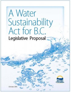 Water-Sustainability-Act_Legislative-Proposal_Oct-2013__cover