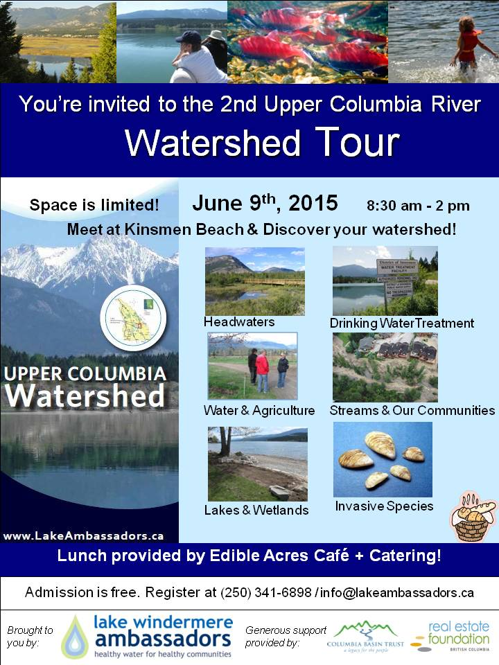 Come out and discover the Upper Columbia River Watershed!