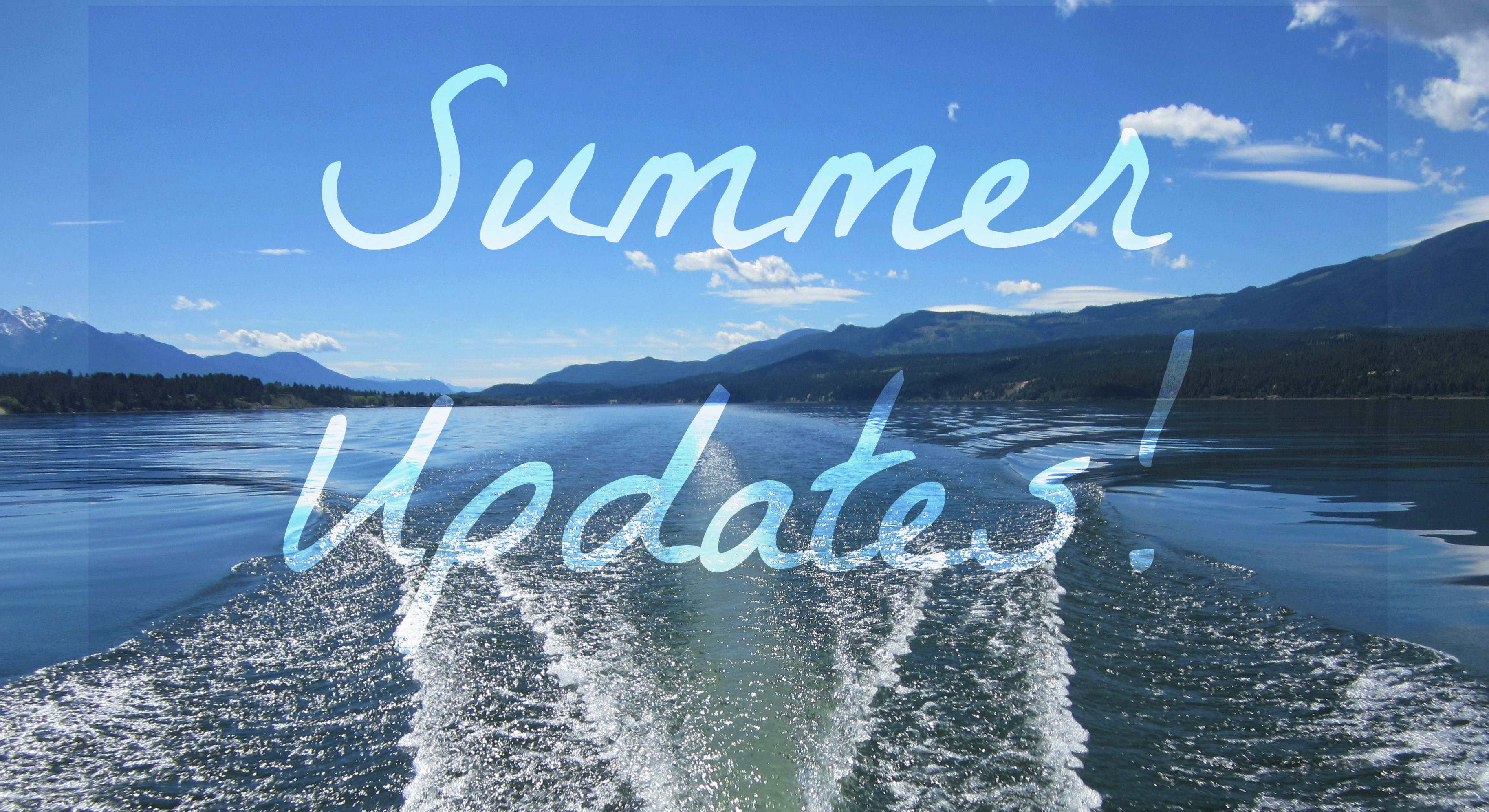 Summer Updates and Introducing our new Program Coordinator
