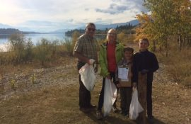 Lake Windermere's Great Canadian Shoreline Cleanup 2017
